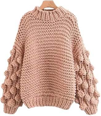 Goodnight Macaroon 'Clora' Pom Pom Sweater (3 Colors)