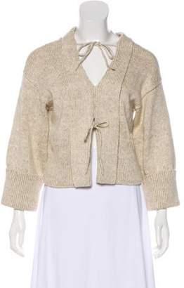 Marni Heavy Knit Sweater Beige Heavy Knit Sweater