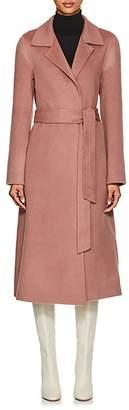 THE LOOM Women's Brushed Wool-Alpaca Belted Coat