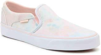 Vans Asher Cloudwash Slip-On Sneaker - Women's