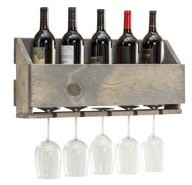 Le Luxe Wine Rack by Del Hutson Designs (Grey)