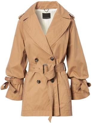 Banana Republic Water-Resistant Tie-Sleeve Trench