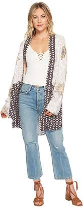 Free People Forget Me Knot Kimono Women's Clothing