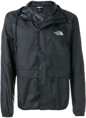 The North Face logo zipped jacket