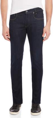 G Star Raw Dark Aged D-Staq Five-Pocket Slim Jeans
