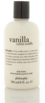 philosophy Vanilla Velvet Truffle Body Lotion - 8 oz.