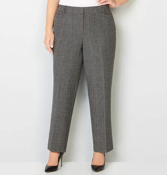 Avenue Grey Slimming Trouser Pant with Tummy Control