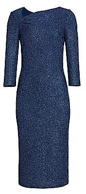St. John Women's Sequin Knit Sheath Dress - Size 0