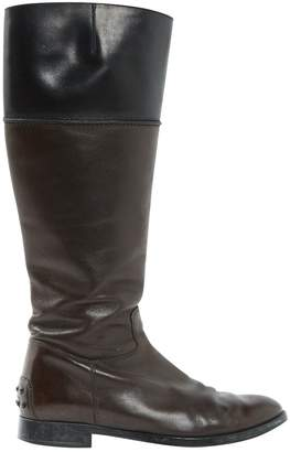 Tod's Leather riding boots