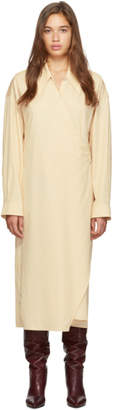 Lemaire Beige New Twisted Dress