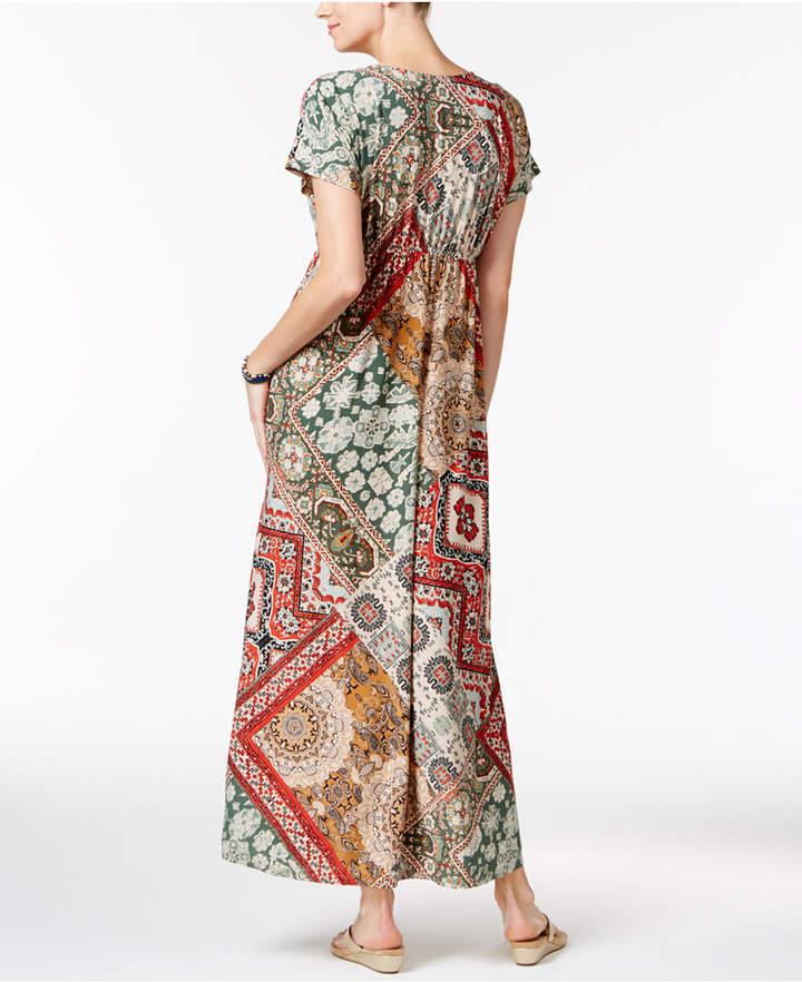 Style & Co Printed Maxi Dress, Only at Macy's 2