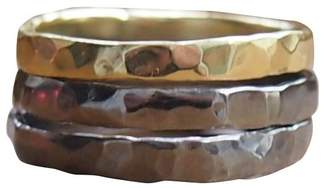 Elena Jewelry Concepts - Stackables Phodium Plated Silver II Bronze I
