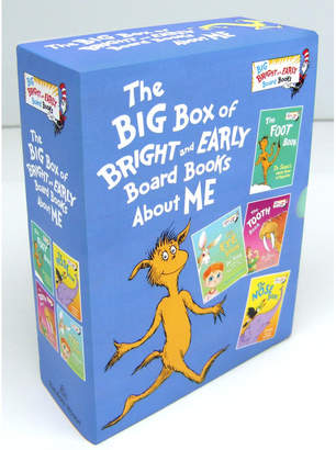 Penguin Random House Big Box Of Bright And Early Board Books About Me By Dr. Seuss