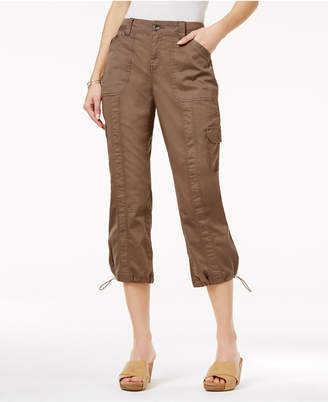 Style&Co. Style & Co Cargo Capri Pants, Created for Macy's