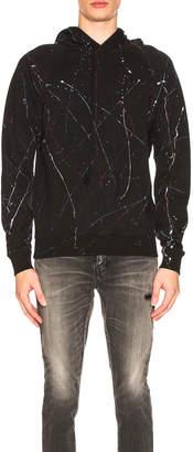 Saint Laurent Hoodie in Black | FWRD