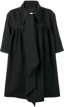 MM6 MAISON MARGIELA oversized tie-neck coat