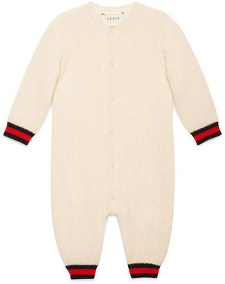 Baby cashmere sleepsuit with Web $515 thestylecure.com