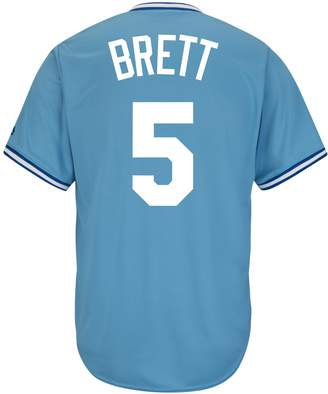 Majestic Men's Kansas City Royals George Brett Cooperstown Collection Cool Base Replica MLB Jersey