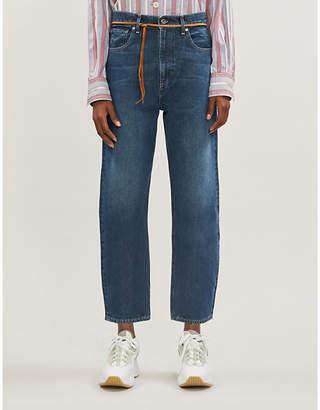 Levi's Barrel straight high-rise jeans