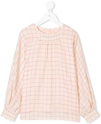 Chloé Kids checked blouse