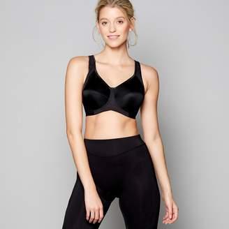 Freya Black Underwired Sports Bra