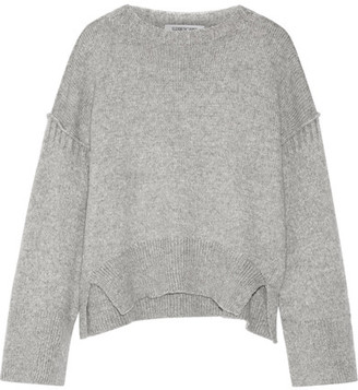Elizabeth and James - Harris Wool-blend Sweater - Gray $355 thestylecure.com
