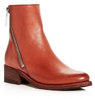 Frye Women's Demi Leather Block-Heel Booties