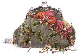 Mary Frances Embellished Shoulder Bag