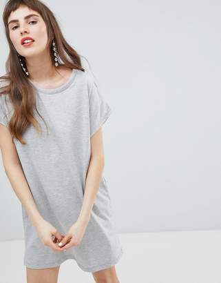 Stradivarius Jersey T Shirt Dress Plain