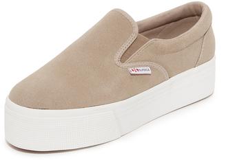 Superga 2314 Suede Sneakers $109 thestylecure.com