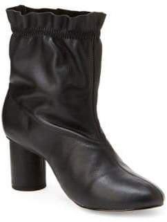 Nanette Lepore Nanette By Glory Mid-Shaft Leather Booties