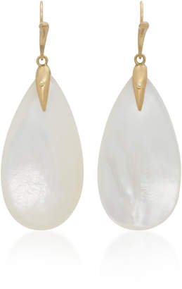 Annette Ferdinandsen 18K Gold Mother-Of-Pearl Earrings