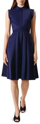 HOBBS LONDON Gables Wrap-Waist Dress $250 thestylecure.com