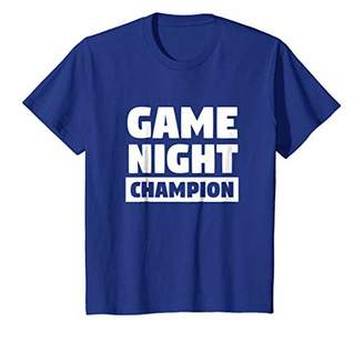 Game Night Champion TShirt for Game Night Champs