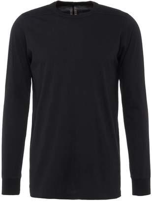 Rick Owens Panelled shoulder long sleeve T-shirt
