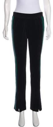 Pam & Gela Mid-Rise Straight-Leg Pants