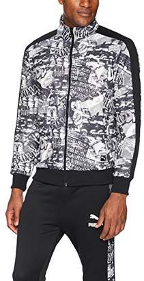 Puma Men's T7 Track Jacket With Graffiti Print