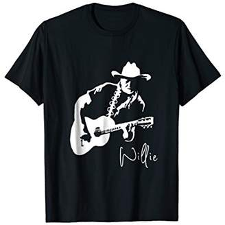 N. Awesome Willie Playing Guitar Country Music Shirt