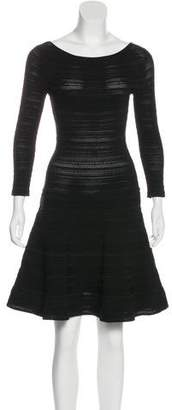 Ralph Lauren Black Label Textured Mini Dress