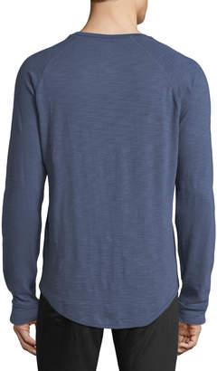 Vince Men's Slub Henley T-Shirt