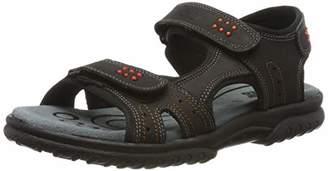 Lico Unisex Adults' Tellaro V Sling Back Sandals, Black Schwarz