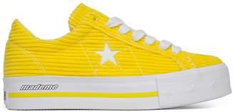 Converse One Star Platform Ox MadeMe Vibrant Yellow (W)