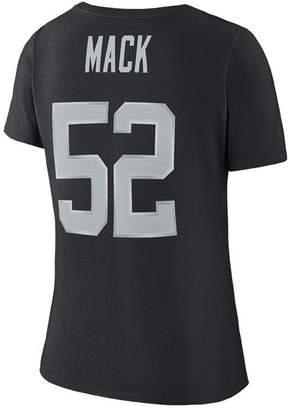 Nike Women's Khalil Mack Oakland Raiders Player Pride 3.0 T-Shirt