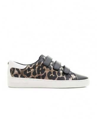 Michael Kors Craig Leopard Print Velcro Sneakers
