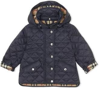 Burberry Blue Newborn Jacket