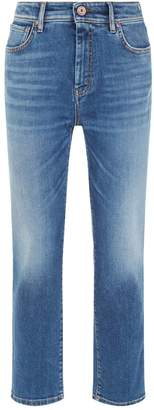 Max Mara Denim Straight Leg Jeans