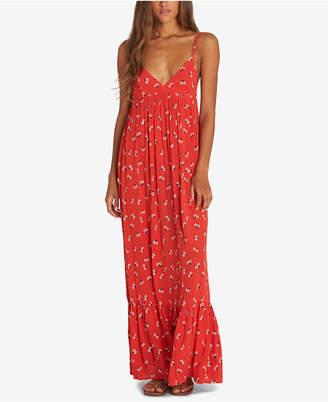 Billabong Juniors' Flamed Out Printed Maxi Dress