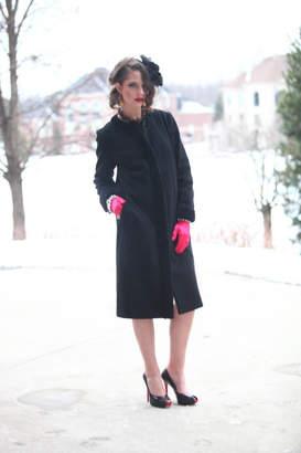 Couture Lyudviga Coat With-Fur Trim