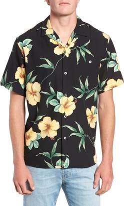 Tori Richard Sultry Hib Regular Fit Silk Blend Camp Shirt
