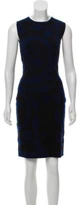 Sophie Theallet Cashmere Jacquard Dress w/ Tags Navy Cashmere Jacquard Dress w/ Tags